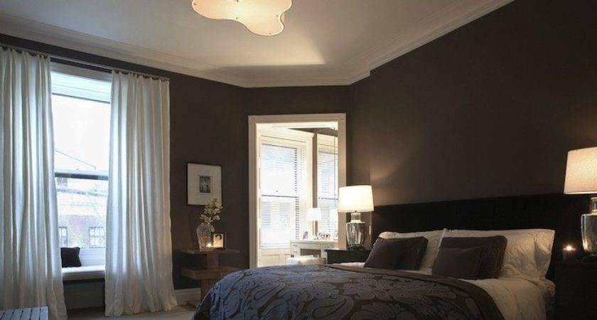 Dark Brown Bedroom Transitional Rees Roberts