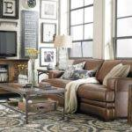 Dark Brown Leather Sofa Decorating Ideas Home Design