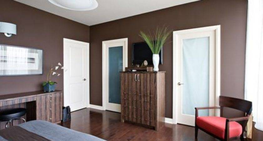 Dark Brown Walls Houzz