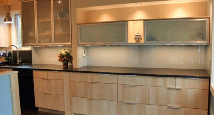 Dark Kitchen Cabinets Glass Doors Quicua