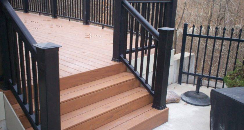 Deck Benches Railing Louis Decks Screened