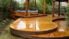 Deck Designs Hot Tub Joy Studio Design