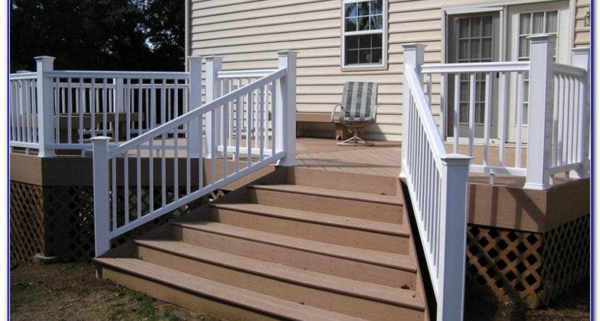 Deck Stair Handrail Designs Lighting Furniture Design