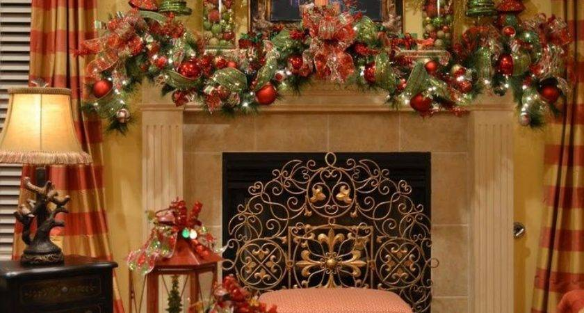 Decor Top Country Christmas Decorating Ideas Pinterest