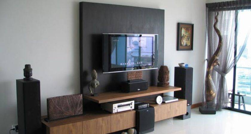 Decorate Around Your Flat Screen Television