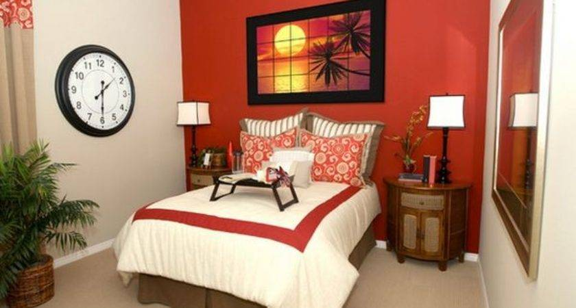Decorate Bedroom Red Walls