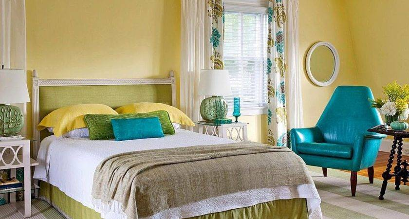 Decorate Bedroom Yellow