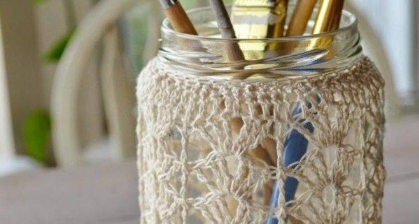 Decorate Glass Jars Christmas Steps