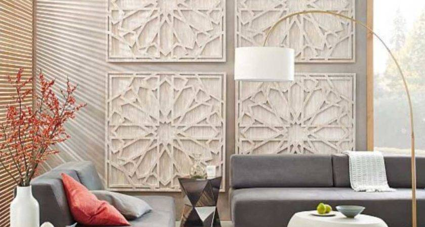 Decorate Large Living Room Wall Wood Panels