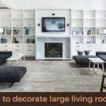 Decorate Large Living Rooms