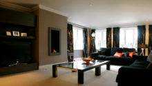 Decorate Living Room Using Black Furniture