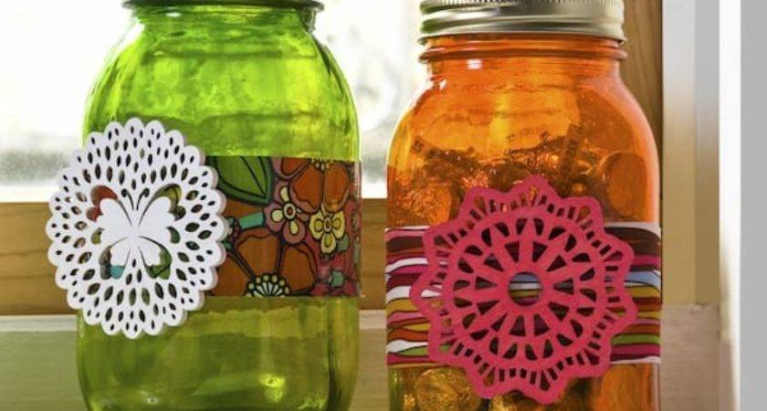 Decorate Mason Jars Spring Diycandy