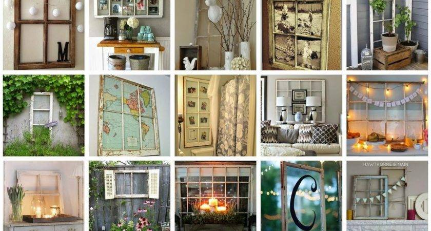 Decorate Old Windows Hometalk