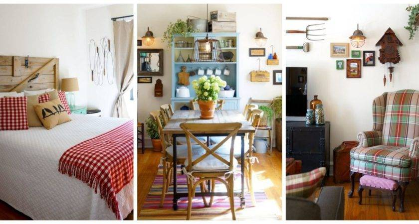 Decorate Small Home Using Country Decorating