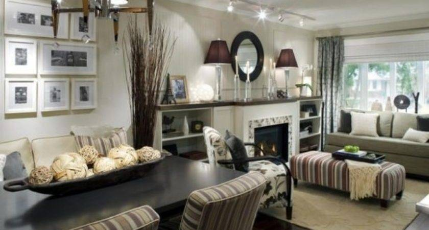 Decorate Small Living Room Dining Combo