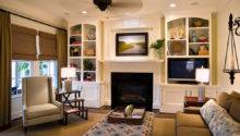 Decorate Small Living Room Fireplace