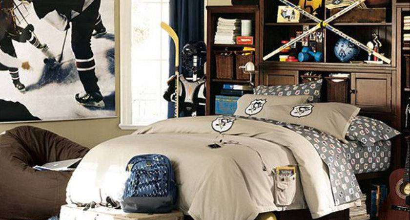 Decorate Sports Themed Room