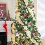 Decorate Your Christmas Tree Using Deco Mesh