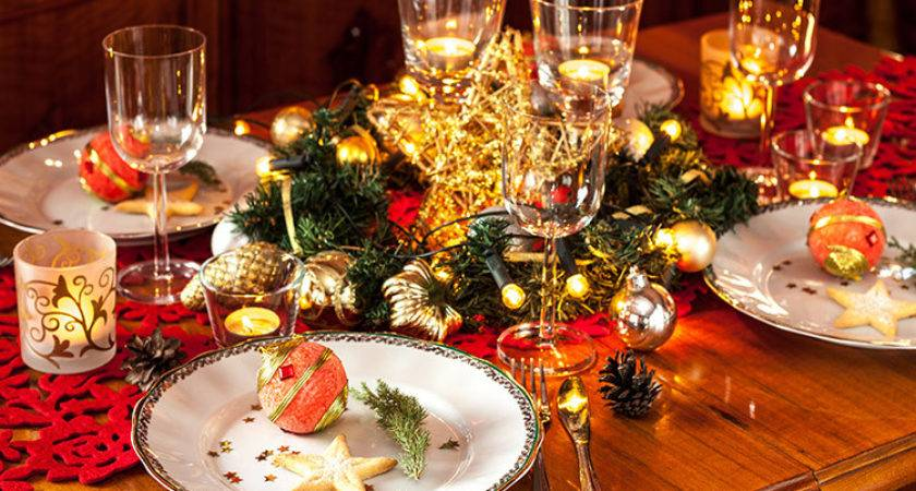 Decorate Your Table Christmas Dinner Wren