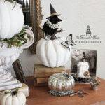 Decorated House Halloween Decorating Black