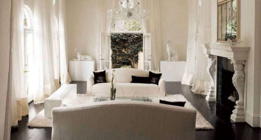 Decorating All White Rooms Ideas Inspiration