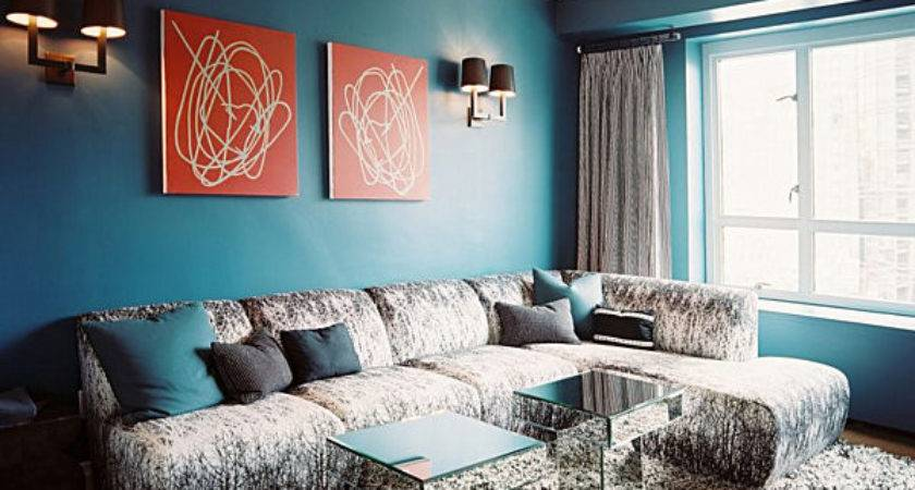 Decorating Blue Hues Furnish Burnish