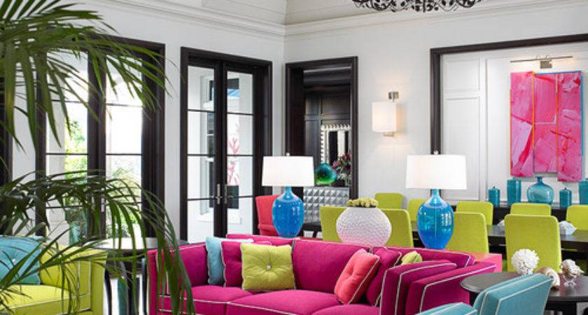Decorating Bold Colors Town Country Living