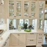 Decorating Glass Cabinets Doors Brings Light Into