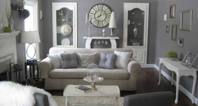 Decorating Gray Furniture Grey Cream Living Room