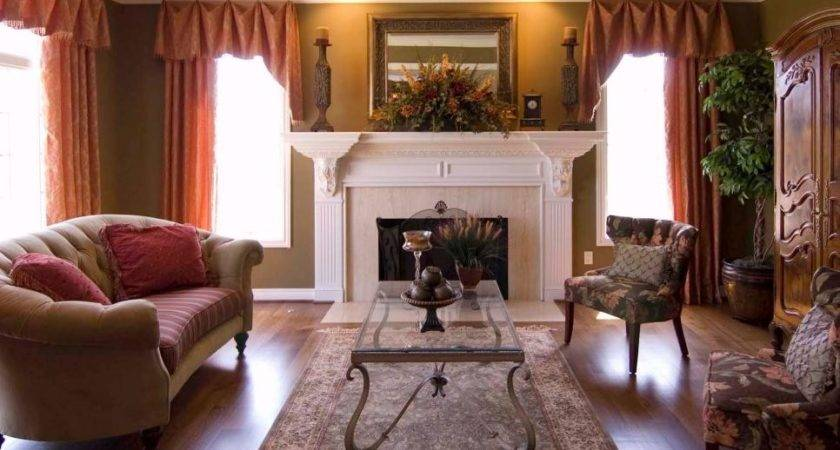 Decorating Ideas Fireplace Mantels Walls Diy
