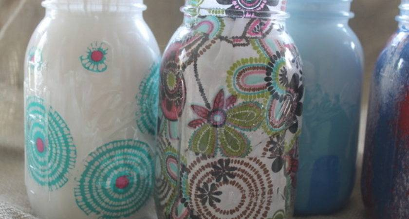 Decorating Jars Five Ways Plaidcrafts Walmartplaid