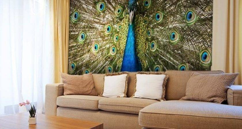 Decorating Living Room Peacock Home Decor
