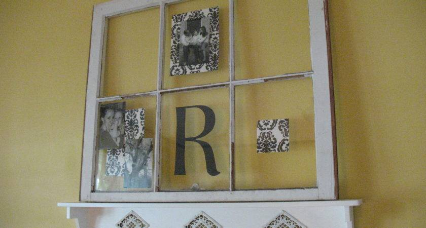 Decorating Old Window Robinson Home Sweet