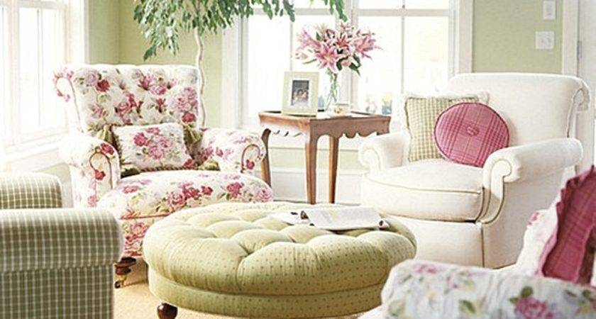 Decorating Pink Green Town Country Living