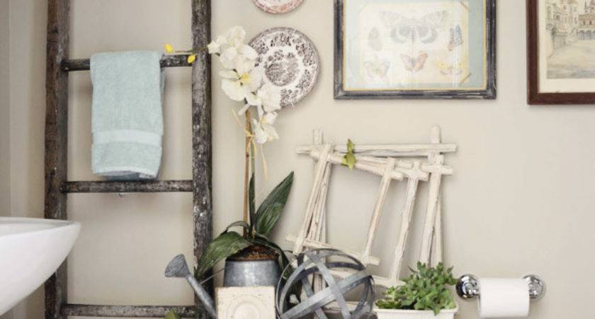 Decorating Powder Room Celebrating Everyday Life