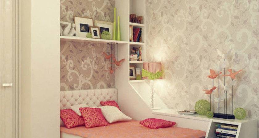 Decorating Small Teenage Girl Bedroom Ideas