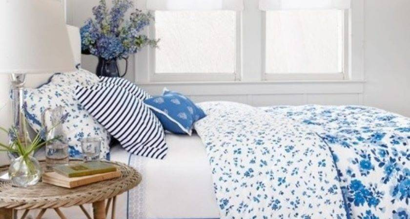 Decorating Style Blue White Cottage