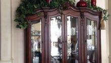 Decorating Top China Cabinet Decoration