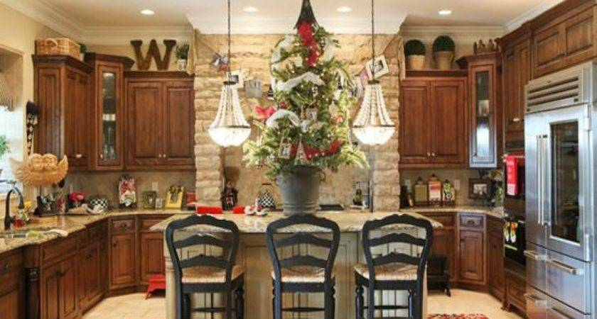 Decorating Tops Kitchen Cabinets Simple