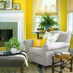 Decorating Yellow Orange Martha Stewart