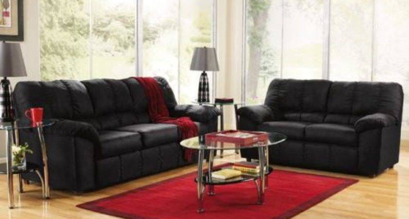 Decorating Your Living Room Black Leather Furniture