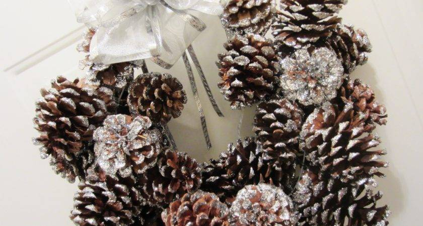 Decorations Pinecone Crafts