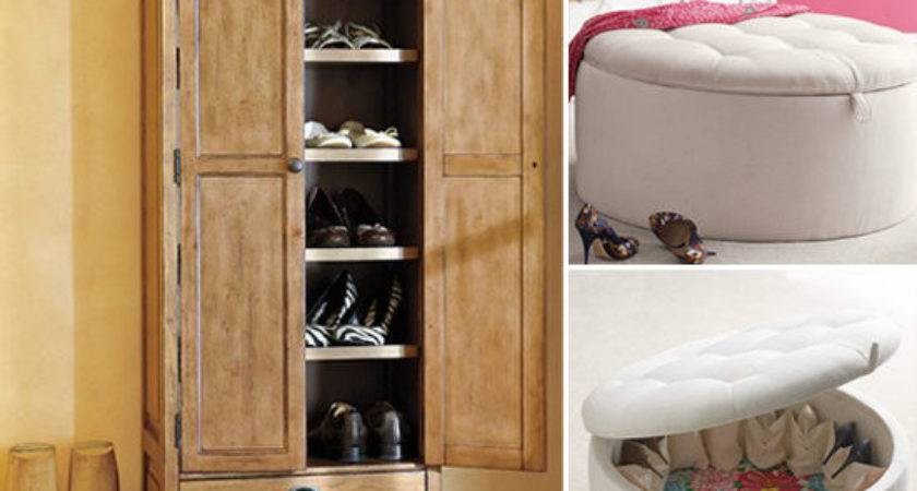 Decorative Shoe Storage Solutions