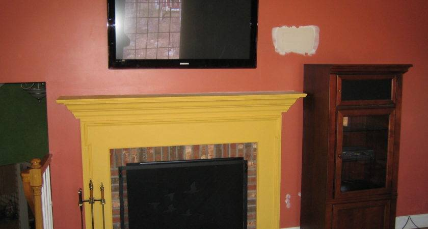 Deep River Install Over Fireplace Large