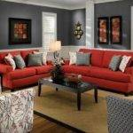 Delightful Red Sofas Living Room Ideas Best Sofa Decor