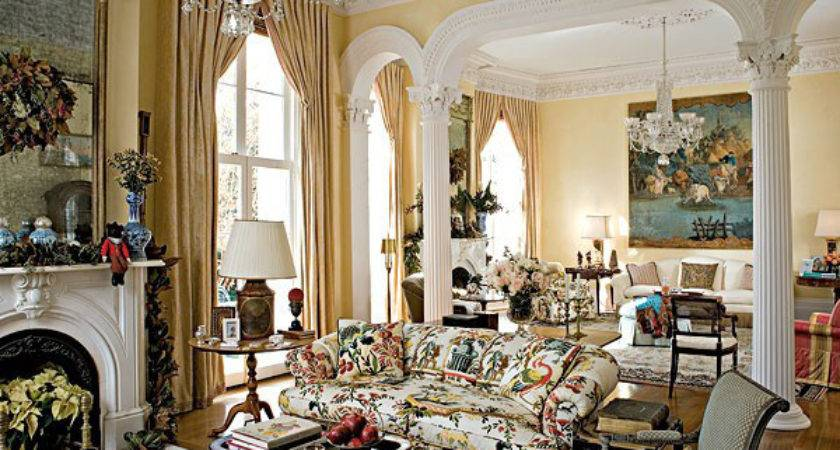 Design French Styled Living Room
