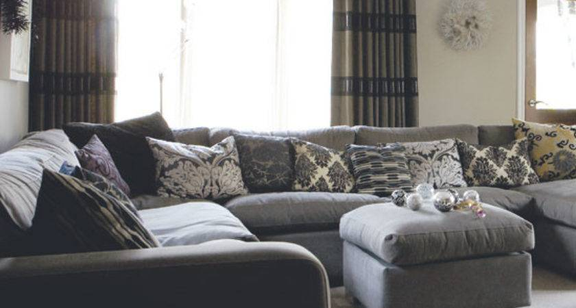 Design Living Room Grey Dands