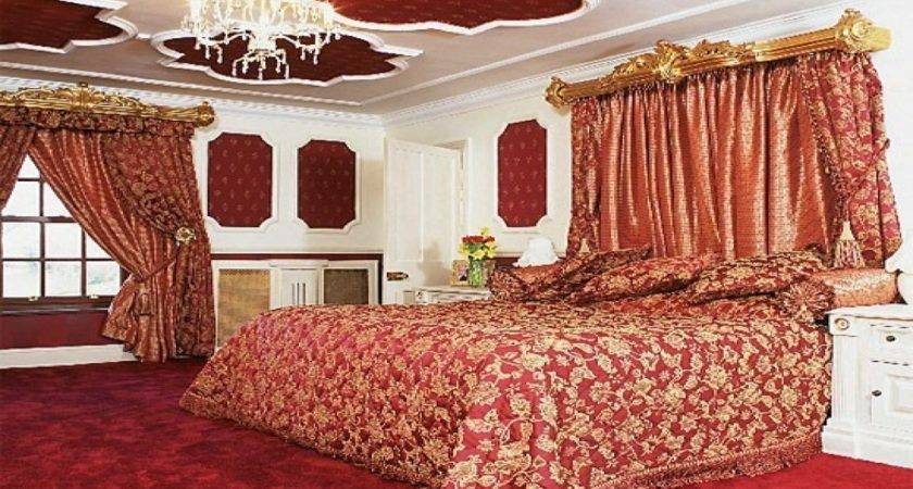 Design Your Own Bedroom Red Gold