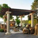 Designs Pergolas Shade Seating Areas Home