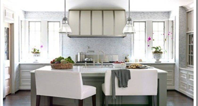 Desire Decorate Kitchens Without Upper Cabinets